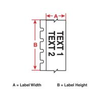 M71C-475-412 информационные бирки Brady (аналог на TLS/HM PTL-57-412)