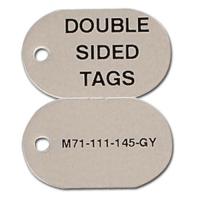 M71-111-145-GY бирки для кабеля и провода Brady