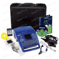 Принтер BMP71, русско-англ. клавиатура. В компл: LabelMark, Markware, жесткий кейс, батарея, адаптер, USB кабель, переходник для материалов TLS/HandiMark,  риббон черн. M71-R6000, этикетки M71-31-423 (38.1ммх25.4мм), M71C-2000-580/595-WT (50.8ммх15.24м)
